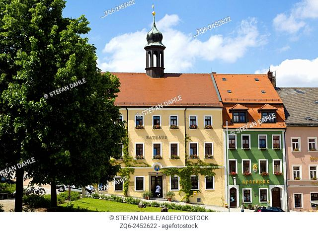 Town Hall of Stolpen, Saxony, Germany