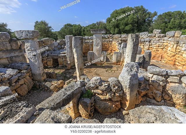 Torre d'en Galmes, Menorca, Balearic Islands, Spain, Europe