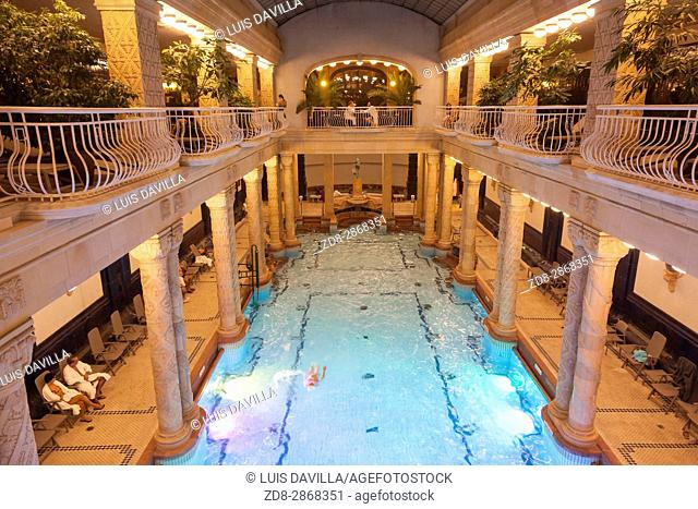 The Gellert Bath and Hotel itself was built in the preceding decades, and opened its doors in 1918. Outdoor pools were added later on
