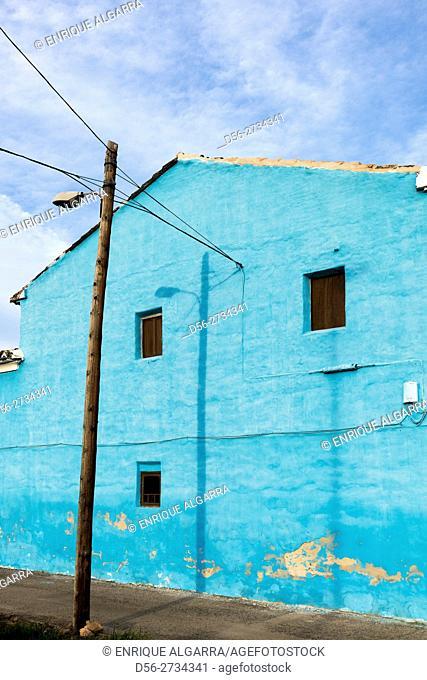 Blue house, Alboraia, Valencia, Spain