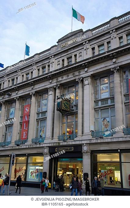 Clerys of O'Connell Street, Dublin, Ireland