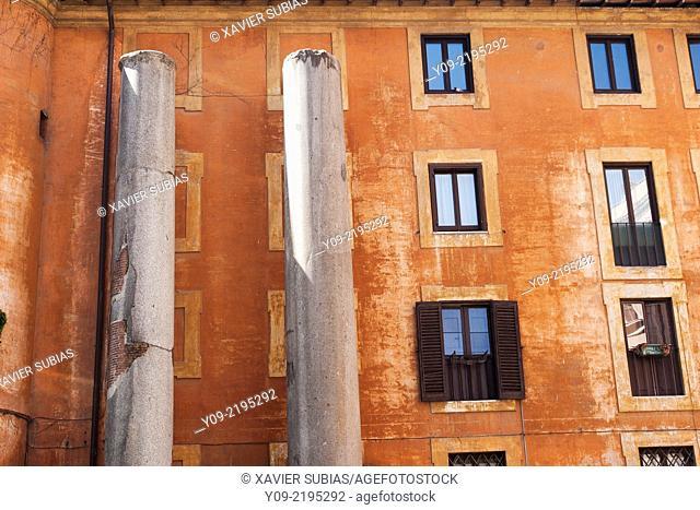 Columns of Nero's Term, Rome, Lazio, IItaly