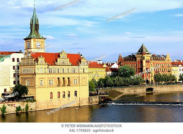 Czech Republic, overlooking Prague on the Vltava