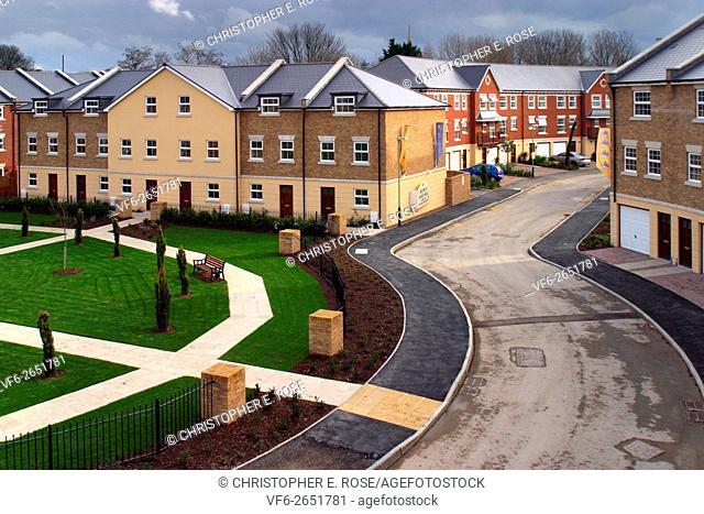 A modern style terrace town house property development