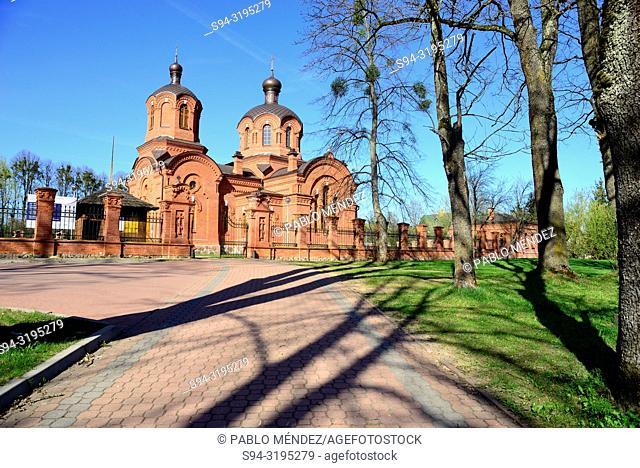 Orthodox church of Saint Nicholas, Bialowieza, Poland