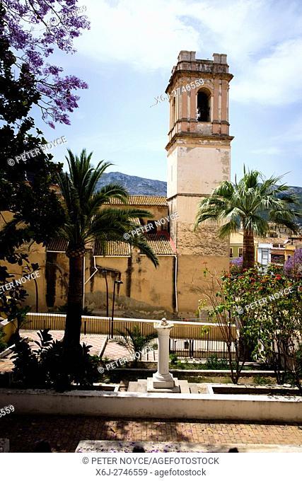 Church of the Asuncion in Denia, Spain