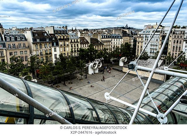 Centre Georg Pompidou in Paris, France