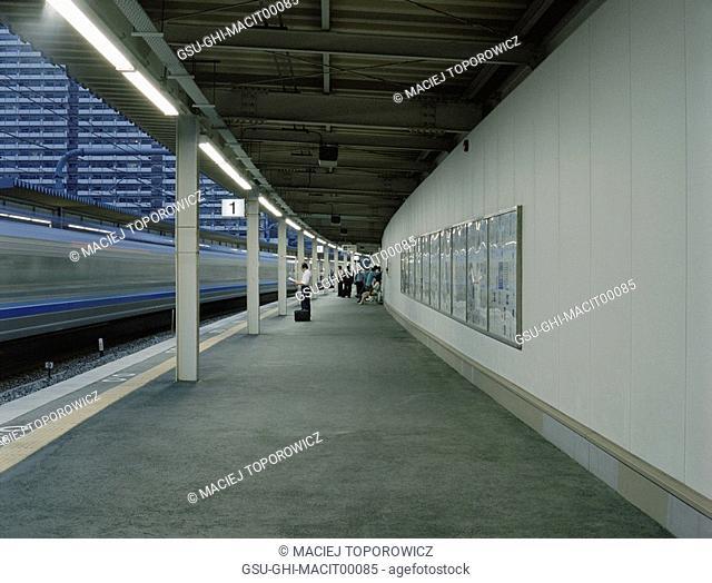 platform, transit, station