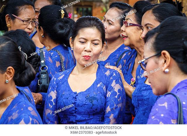 Cremation ceremony. Ubud. Bali, Indonesia, Asia