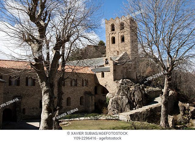 Saint Martin du Canigou, Casteil, Pyrenees-Orientales département, France