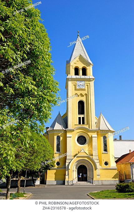 Komarom, Western Transdanubia, Hungary. Komarom Parish Church
