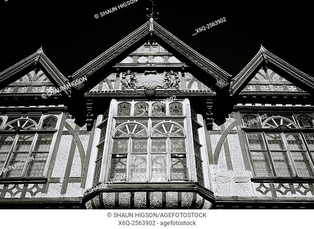 The Beaney Institute Public Library and Art Museum in Canterbury in England in Kent in the United Kingdom