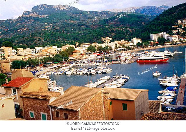Port de Sóller. Majorca. Balearic Islands. Spain