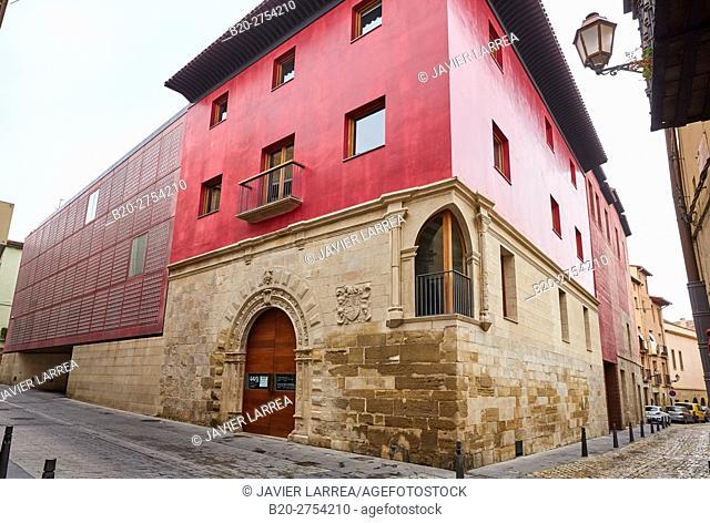 Ruavieja Street, Centro de la Cultura del Rioja, Logroño, Way of Saint James, La Rioja, Spain, Europe