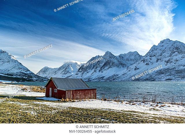 The Peninsula Lyngen with Lyngen Alps, Northern Norway