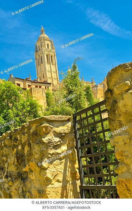 Cathedral of Segovia, Santa Iglesia Catedral de Nuestra Señora de la Asunción y de San Frutos, Segovia, UNESCO World Heritage Site, Castilla y León, Spain
