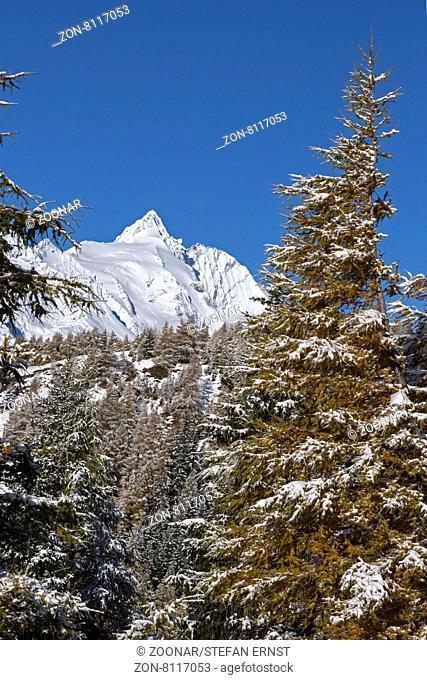 Großglockner, Hohe Tauern, Österreich, Europa / Großglockner, High Tauern National Park, Austria, Europe