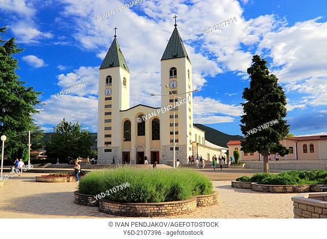 St. James Church, Medjugorje, Herzegovina-Neretva Canton, Bosnia and Herzegovina