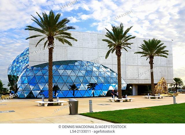 Then Salvador Dali Museum in St. Petersburg Florida FL