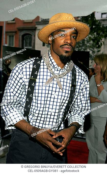 Andre Benjamin at arrivals for WORLD PREMIERE of Paramount Pictures FOUR BROTHERS, Clearview's Chelsea West Cinemas, New York, NY, August 09, 2005