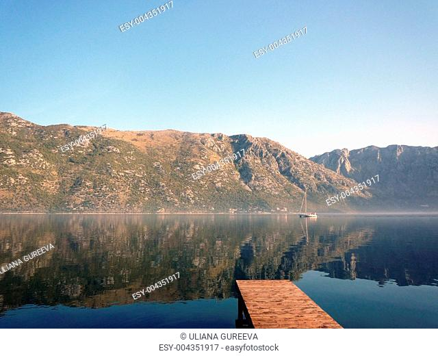 Montenegro - a view from a bay