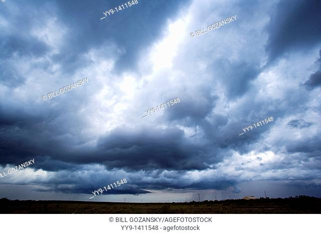 Thunderstorm approaching - Los Novios Ranch - near Cotulla, Texas USA