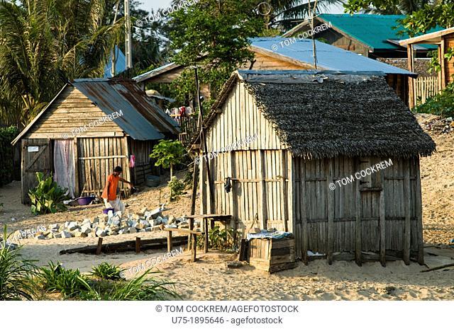 local housing, Fort Dauphin, Madagascar