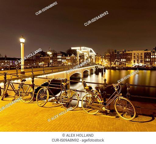 Magere Brug (Skinny Bridge), Amsterdam, Netherlands