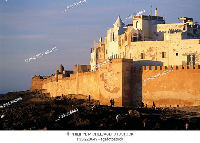 The Medina (old town). Essaouira. Morocco