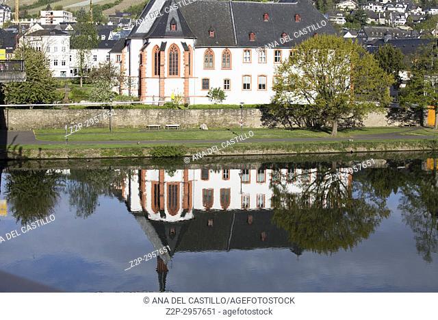 Cusanus Abbey, Bernkastel-Kues, Moselle, Eifel, Rhineland-Palatinate, Germany