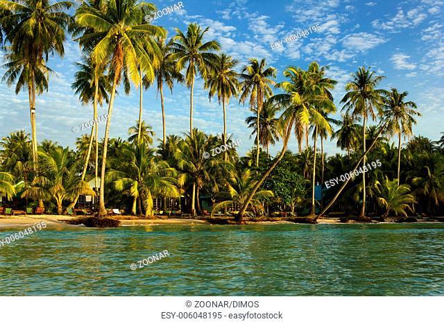 Beach on the Koh Kood island, Thailand