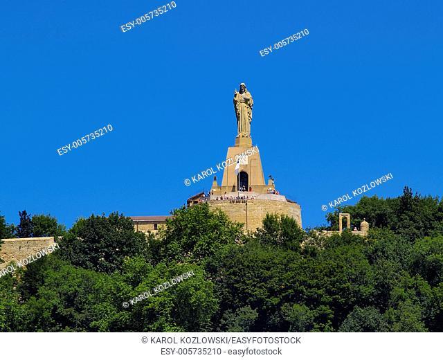 Jesus Monument in Donostia - San Sebastian, Basque Country, Spain