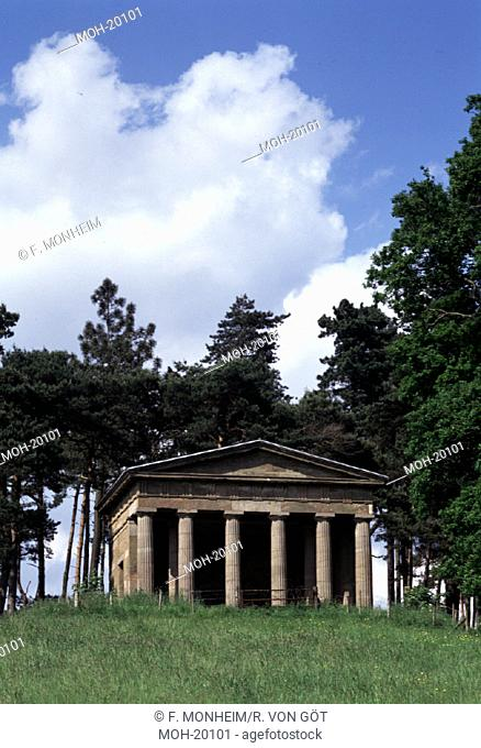 Hagley Hall, Garten /Temple of Theseus