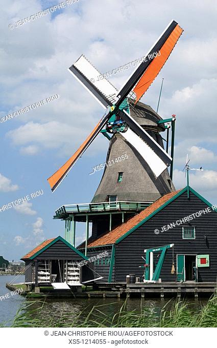 Hollande Amsterdam Zaanse Schans