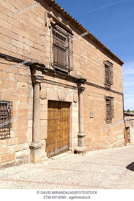Casona de los Molina de la Cerda. Baños de la Encina. Jaén. Andalusia. Spain