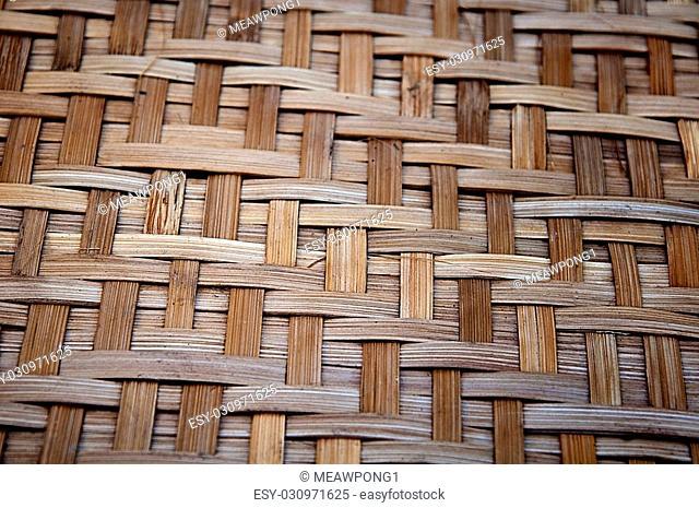 Bamboo handy craft detail