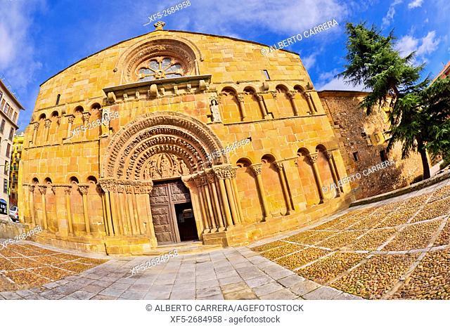 Church of Santo Domingo,12th century, Romanesque Style, Soria, Castilla y León, Spain, Europe