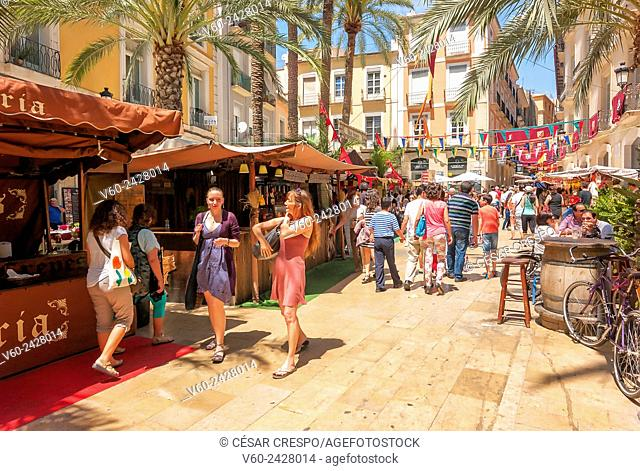 -Medieval Market- Alicante (Spain)