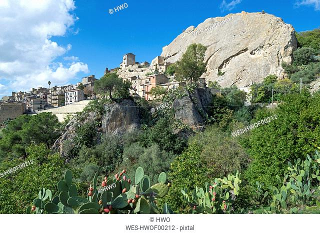 Italy, Sicily, Sperlinga