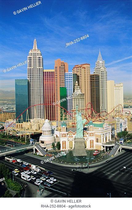 New York, New York Hotel and Casino, Las Vegas, Nevada, USA