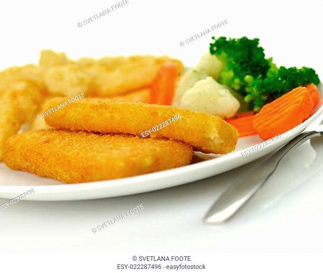 fish fillets dinner