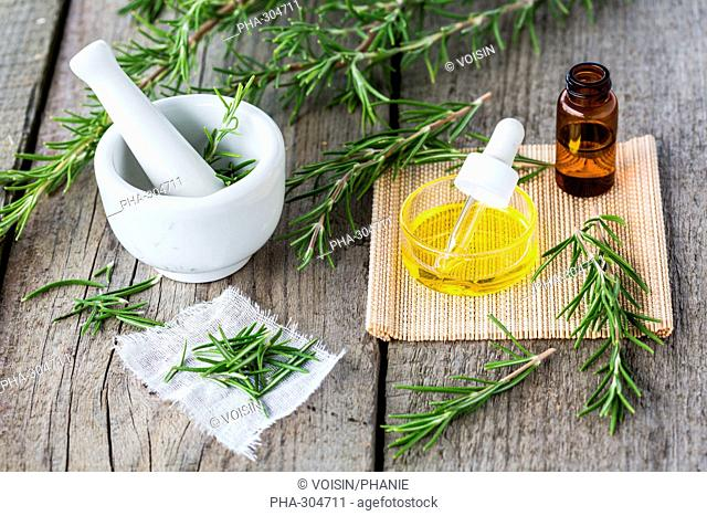 Rosemary essential oils (Rosmarinus officinalis)