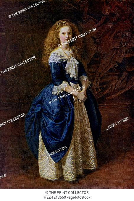 'My Great Grandmother', 1865, (1912). A colour print from Famous Paintings, with an introduction by Gilbert Chesterton, Cassell and Company, (London, New York