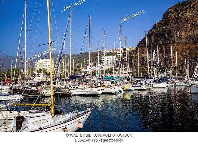 Spain, Canary Islands, La Gomera, San Sebastian de la Gomera, the Marina La Gomera