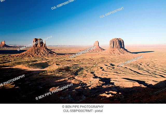 Landscape of monument Valley Navajo Tribal Park, Utah, USA