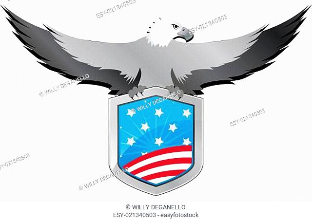 usa eagle shield