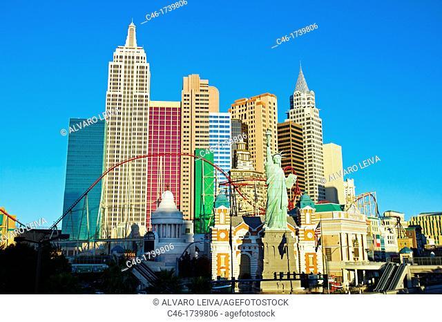 New York Hotel and Casino, Las Vegas, Nevada, USA