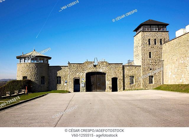 -Acceso de Entrada al Campo de Exterminio- Mauthausen (Austria)