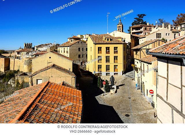 Jewish quarter in Segovia