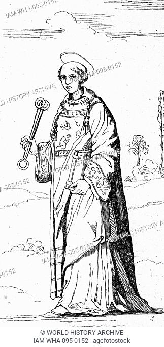 St Leonard of Noblac (died 559 AD), is a Frankish saint closely associated with the town and abbey of Saint-Léonard-de-Noblat, in Haute-Vienne